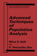 Advanced Techniques of Population Analysis
