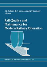 Rail Quality and Maintenance for Modern Railway Operation: International Conference on Rail Quality and Maintenance for Modern Railway Operation Delft
