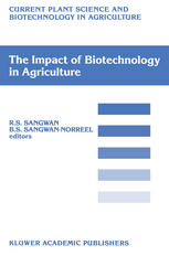 """The Impact of Biotechnology on Agriculture: Proceedings of the International Conference: """"The Meeting Point Between Fundamental and Applied in vitro C"""