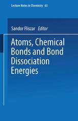 Atoms, Chemical Bonds and Bond Dissociation Energies