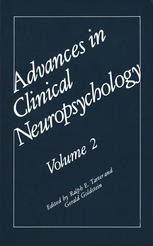 Advances in Clinical Neuropsychology: Volume 2