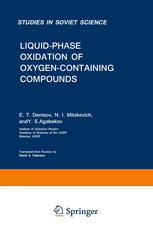 Liquid-Phase Oxidation of Oxygen-Containing Compounds