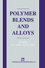 Polymer Blends and Alloys