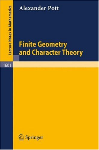 Finite Geometry and Character Theory