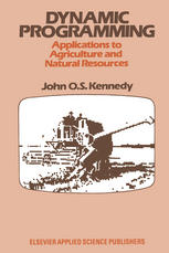 Dynamic Programming: Applications to Agriculture and Natural Resources