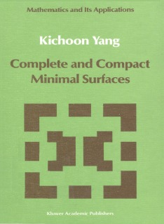 Complete and Compact Minimal Surfaces