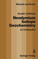 Neodymium Isotope Geochemistry: An Introduction