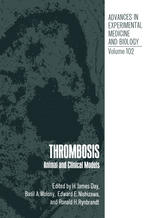 Thrombosis: Animal and Clinical Models