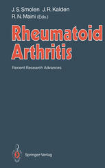 Rheumatoid Arthritis: Recent Research Advances