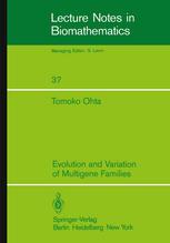 Evolution and Variation of Multigene Families