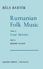 Rumanian Folk Music: Vocal Melodies
