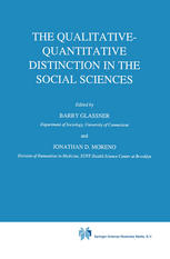 The Qualitative-Quantitative Distinction in the Social Sciences