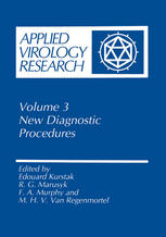 Applied Virology Research: New Diagnostic Procedures