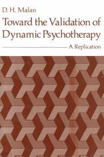 Toward the Validation of Dynamic Psychotherapy: A Replication