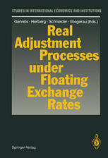 Real Adjustment Processes under Floating Exchange Rates