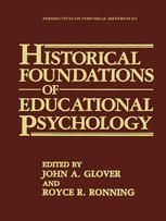 Historical Foundations of Educational Psychology