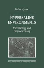 Hypersaline Environments: Microbiology and Biogeochemistry