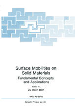 Surface Mobilities on Solid Materials: Fundamental Concepts and Applications