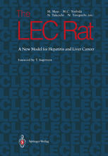 The LEC Rat: A New Model for Hepatitis and Liver Cancer