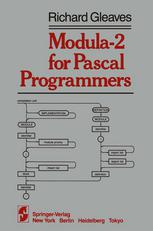 Modula-2 for Pascal Programmers