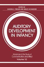 Auditory Development in Infancy