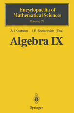 Algebra IX: Finite Groups of Lie Type Finite-Dimensional Division Algebras