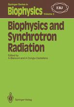 Biophysics and Synchrotron Radiation