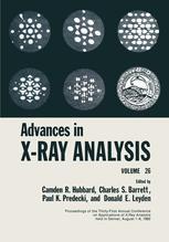Advances in X-Ray Analysis: Volume 26