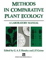 Methods in Comparative Plant Ecology: A laboratory manual