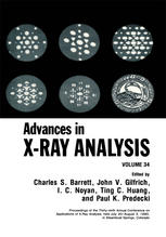 Advances in X-Ray Analysis: Volume 34