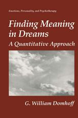Finding Meaning in Dreams: A Quantitative Approach