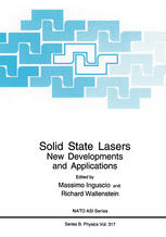 Solid State Lasers: New Developments and Applications