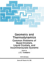 Geometry and Thermodynamics: Common Problems of Quasi-Crystals, Liquid Crystals, and Incommensurate Systems