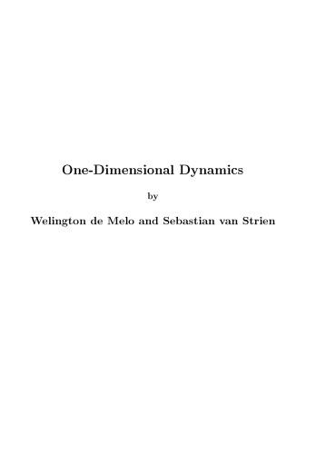 One-dimensional dynamics