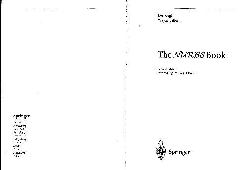 Piegl Tiller The NURBS Book