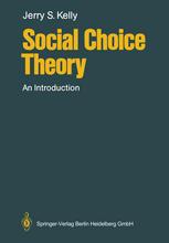 Social Choice Theory: An Introduction