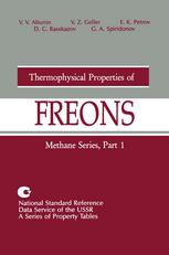 Thermophysical Properties of Freons: Methane Series, Part 1