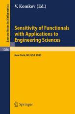 Sensitivity of Functionals with Applications to Engineering Sciences: Proceedings of a Special Session of the American Mathematical Society Spring Mee