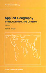 Applied Geography: Issues, Questions, and Concerns