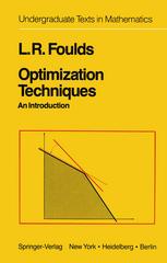 Optimization Techniques: An Introduction