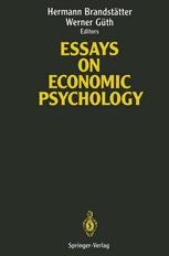 Essays on Economic Psychology