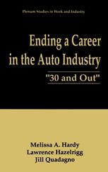 "Ending a Career in the Auto Industry: ""30 and Out"""