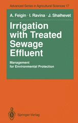 Irrigation with Treated Sewage Effluent: Management for Environmental Protection
