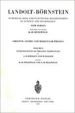 Luminescence of Organic Substances
