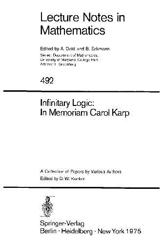 Infinitary Logic: In Memoriam Carol Karp