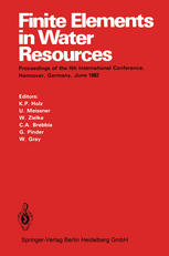 Finite Elements in Water Resources: Proceedings of the 4th International Conference, Hannover, Germany, June 1982