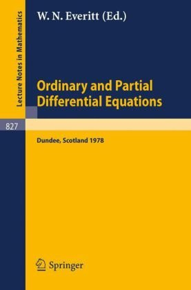 Ordinary and Partial Differential Equations: Proceedings of the Fifth Conference Held at Dundee, Scotland, March 29 – 31, 1978