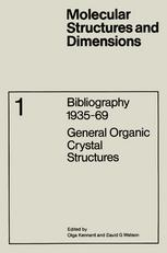 Bibliography 1935–69: General Organic Crystal Structures