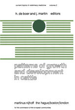 Patterns of Growth and Development in Cattle: A Seminar in the EEC Programme of Coordination of Research on Beef Production held at Ghent, October 11-