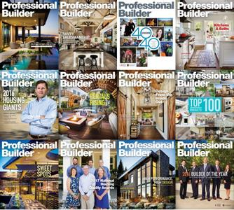 Professional Builder - 2016 Full Year Issues Collection